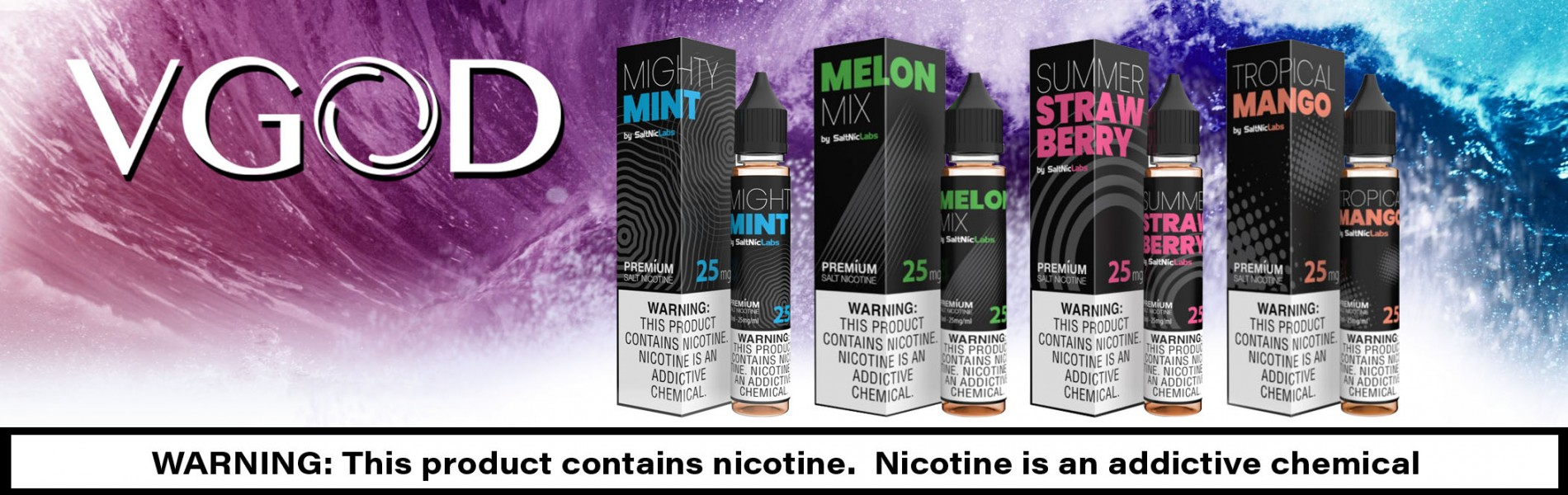 VGod SaltNicLabs E-Juices