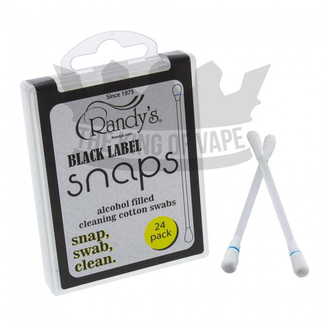 Randy's Black Label - SNAPS - Cleaning Swabs