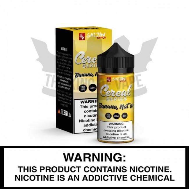 Shijin Vapor E-Liquid | Banana Nut O's