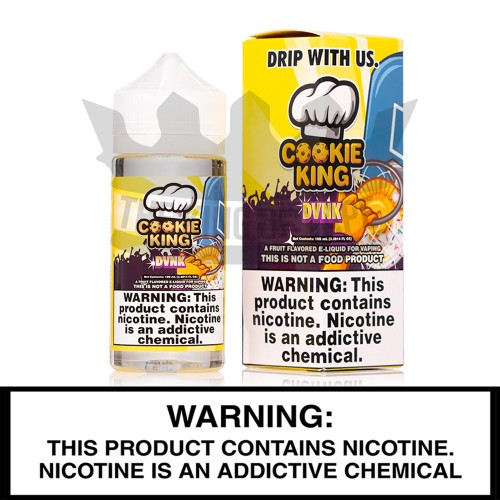 DVNK | Cookie King | 100mL Freebase Bottles