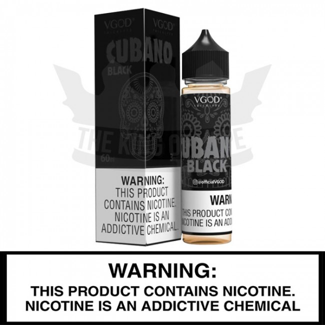 VGOD E-Liquid | Cubano Black