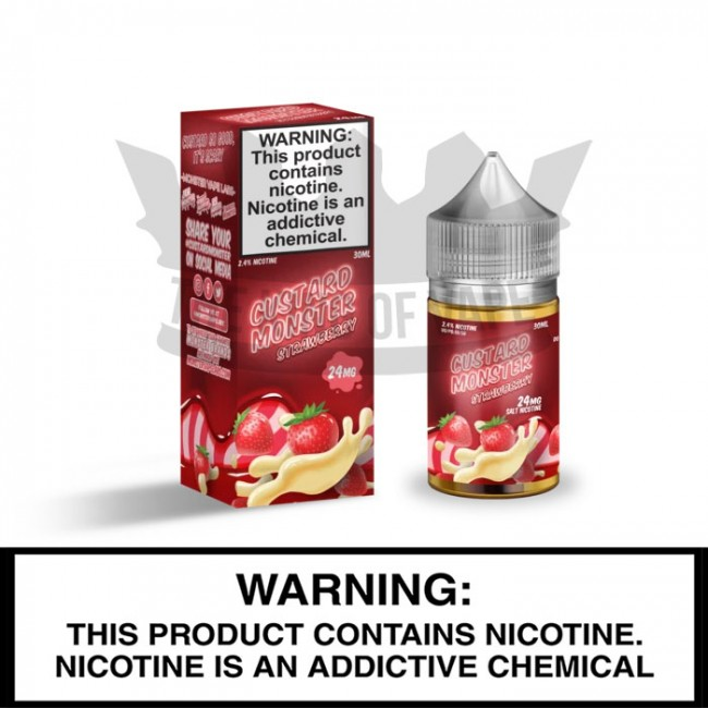 Custard Monster Salt-Nic by Monster Vape Labs | Strawberry