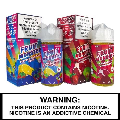 Monster Vape Labs | Fruit Monster | 100mL Freebase Bottles