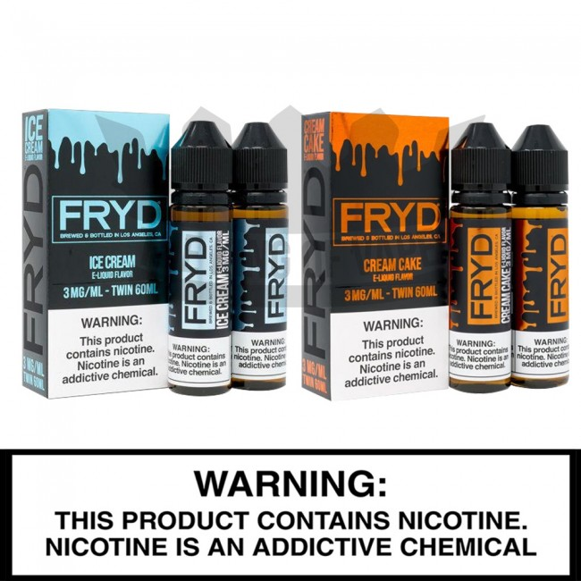 FRYD E-Liquids | 120mL Freebase Bottles