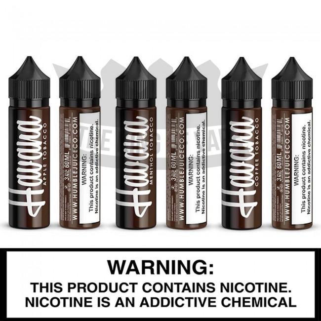Humble Juice Co. | Havana Tobacco | 60ML Freebase Bottles
