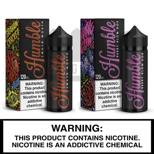 Humble Juice Co. | 120 ml Freebase Bottles