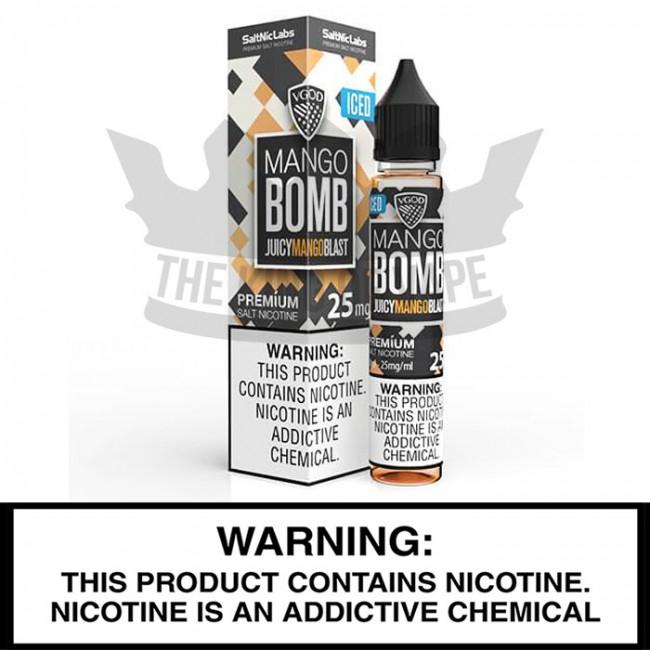 VGOD SaltNicLabs | Iced Mango Bomb