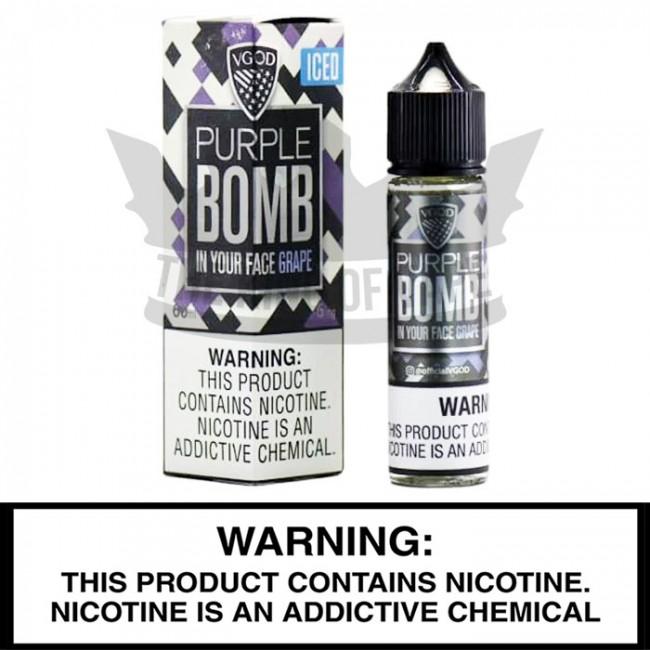 VGOD E-Liquid | Iced Purple Bomb