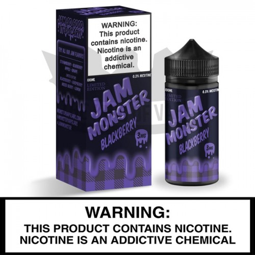 Jam Monster by Monster Vape Labs | Blackberry Jam