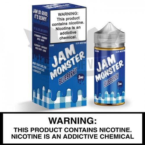 Jam Monster by Monster Vape Labs | Blueberry Jam