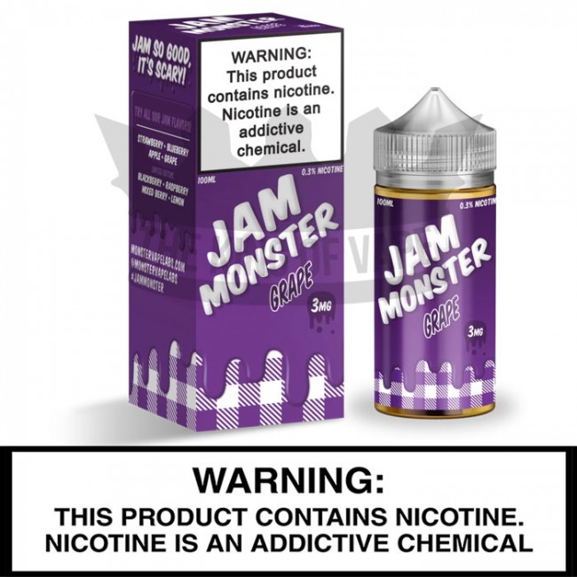 Jam Monster by Monster Vape Labs | Grape Jam