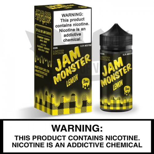 Jam Monster by Monster Vape Labs | Lemon Jam