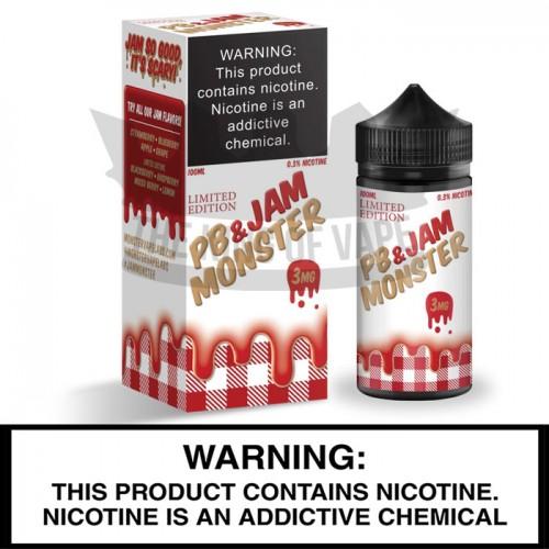 Jam Monster by Monster Vape Labs | Peanut Butter and Strawberry Jam