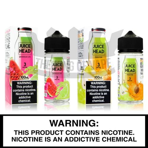 Juice Head | 100mL Freebase Bottles