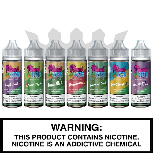 Fuggin Vapor Co. | Miami Ice | 120mL Freebase Bottles