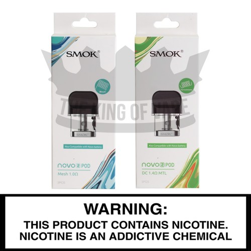 SMOK Novo Replacement Pods - 3 Pack