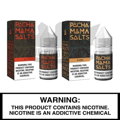 Pacha Mama Salts | 30mL Nic Salt Bottles