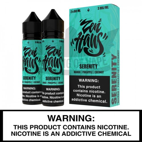 Zen Haus - Serenity - 60mL Twin Pack