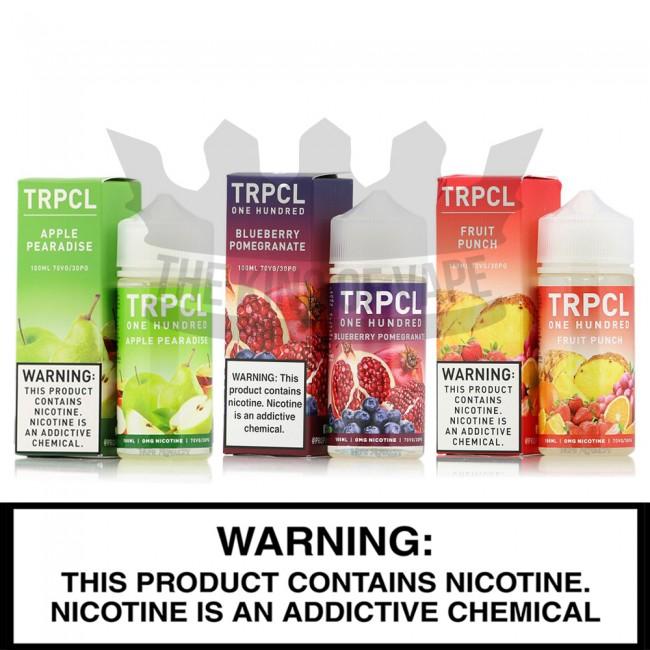 TRPCL 100 Premium E-Liquid - 100 ml Bottles