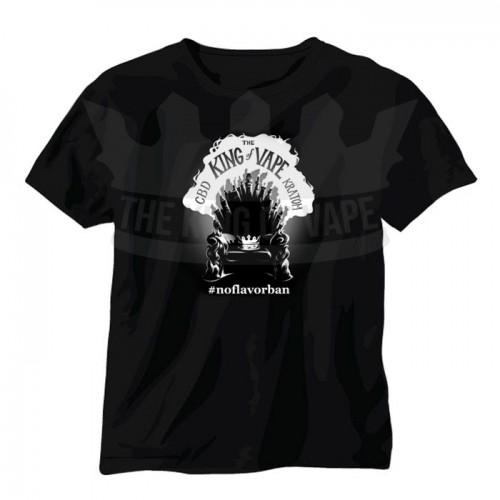 The King of Vape - Throne of Vapes T-Shirt