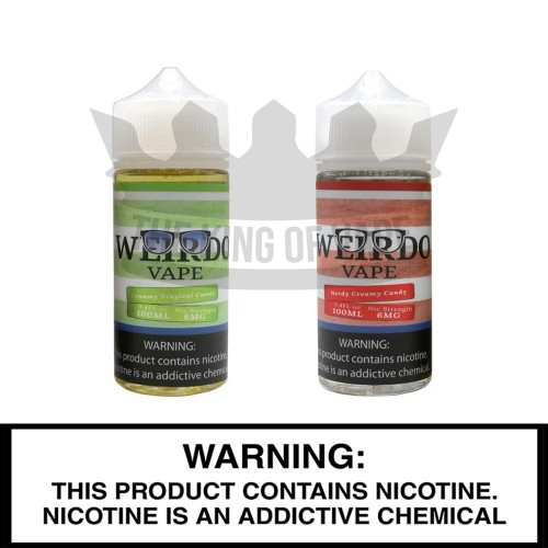 Weirdo Vape |100mL Freebase Bottles