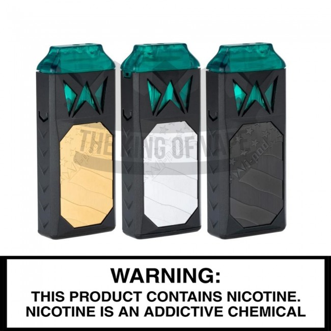 Wi-Pod Refillable Pod System | For Thick Oils, Distillates, Concentrates