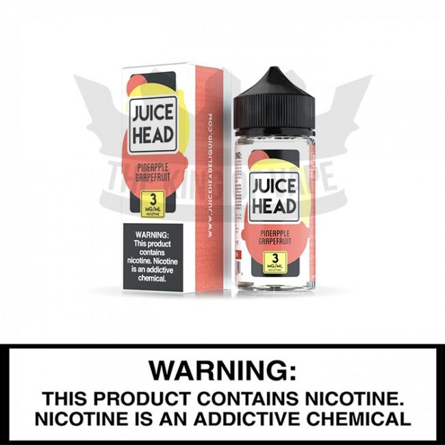Juice Head E-liquids | Pineapple Grapefruit